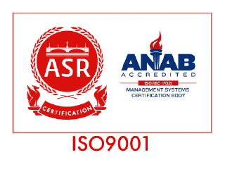 ISO9001認証バッジ